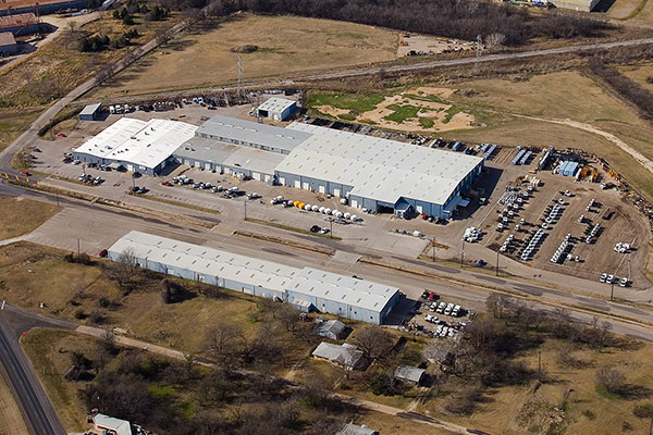 Aerial view of Tymco Compound