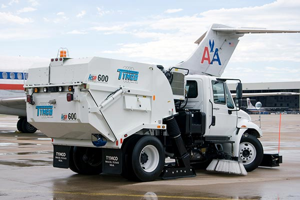 Model HSP Airport Sweeper