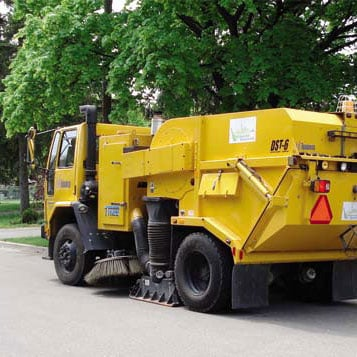 Toronto Fleet Sweeper