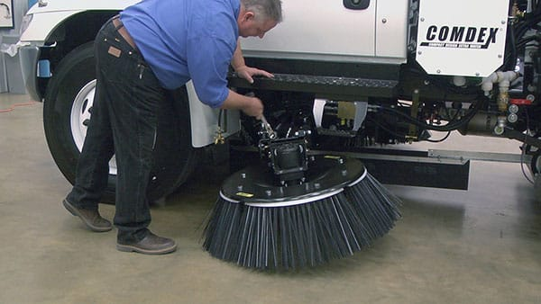 Maintenance and Service of Tymco Sweeper
