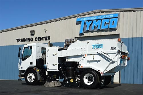 TYMCO Sweeper Training Center in Waco, TX