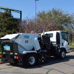 model 210 street sweeper tymco
