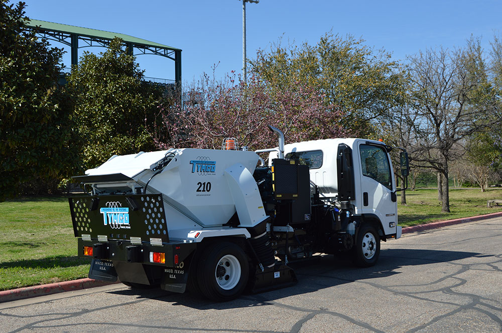 Model 210 Parking Lot Sweepers Manufacturer Texas