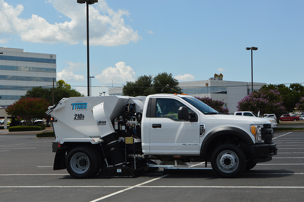 Model 210h Parking Lot Sweepers Manufacturer Texas