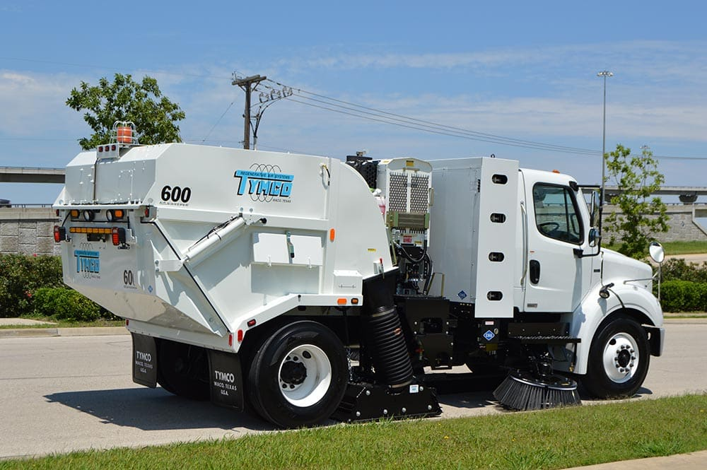 Model 600 Regenerative Air Street Sweeper Manufacturer